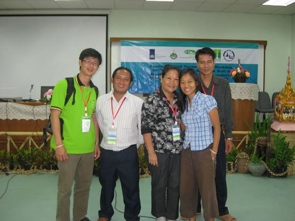 community based tourism training Laos