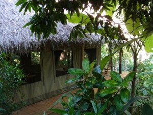 Kamu Lodge Laos Tent View